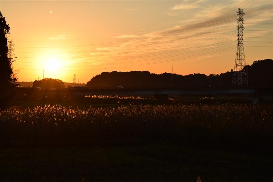 千葉県 熱田ヶ池周辺 田舎の景色
