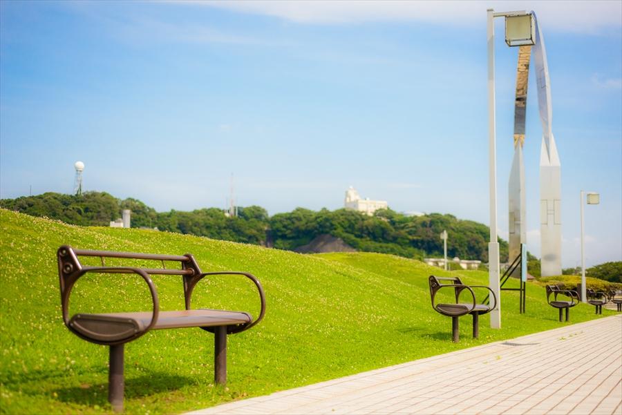 神奈川県 三笠公園 戦艦が見守る公園